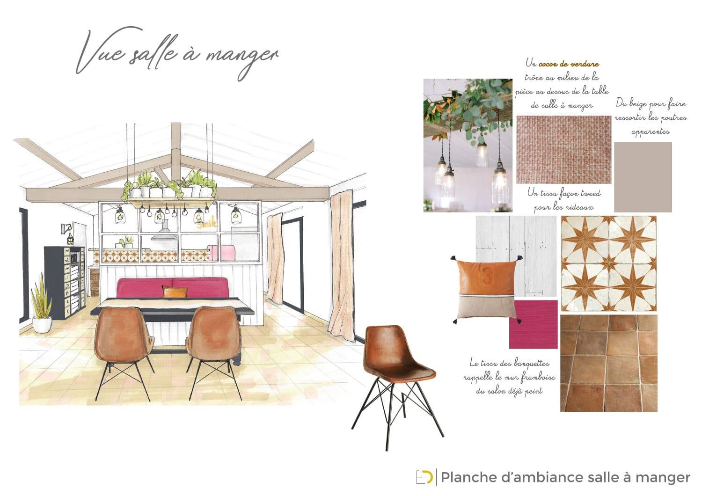 Rénovation intérieur avec des matériaux de récup
