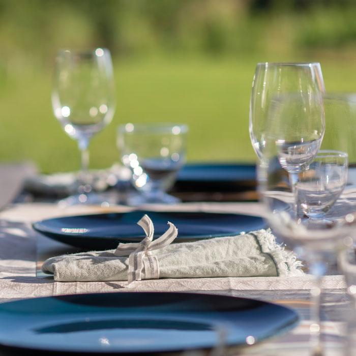 Déco de table esprit champêtre en Vendée